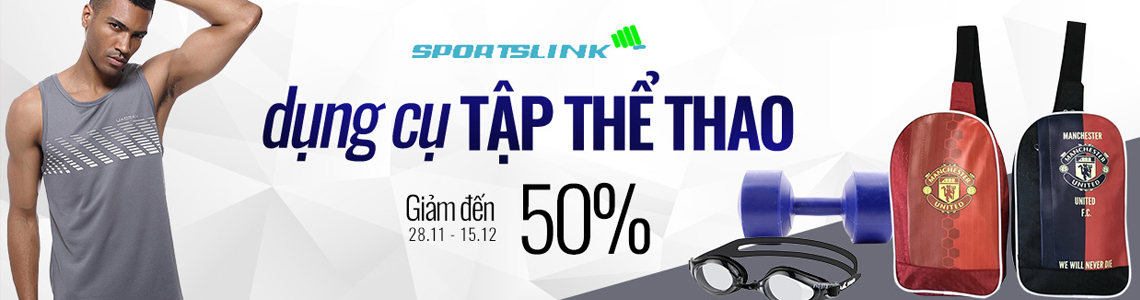 DỤNG CỤ THỂ THAO SPORTLINK - GIẢM 50%