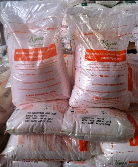 Cung cấp manganese sulphate monohydrate powder: (mnso4.h2o)