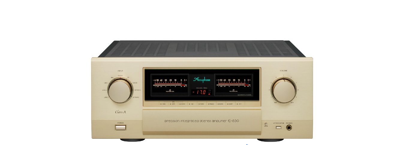 Amply cao cấp nhất của Accuphase, Accuphase E650