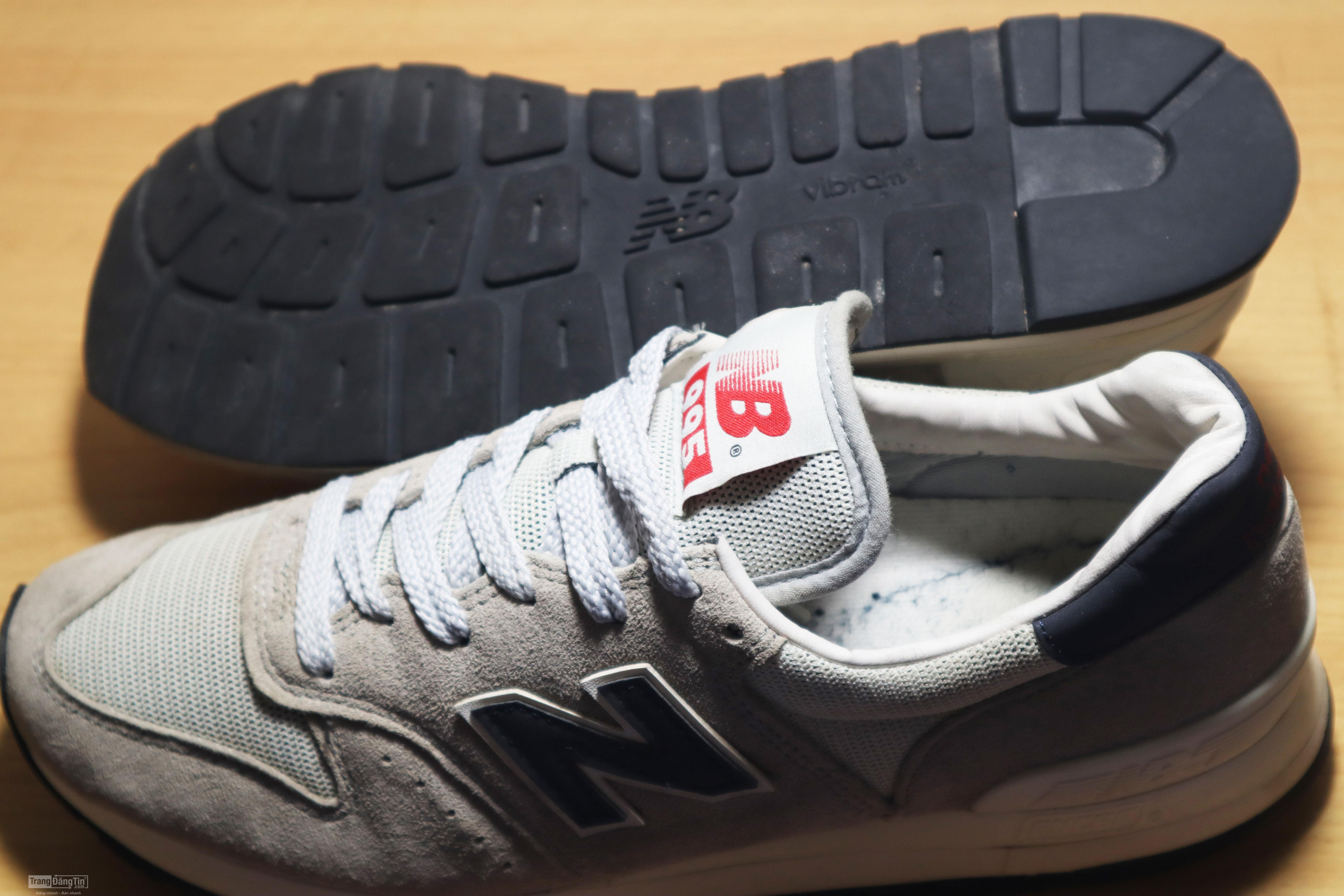 NEW BALANCE Suede 995 Classic Shoes M995CHA Made in USA