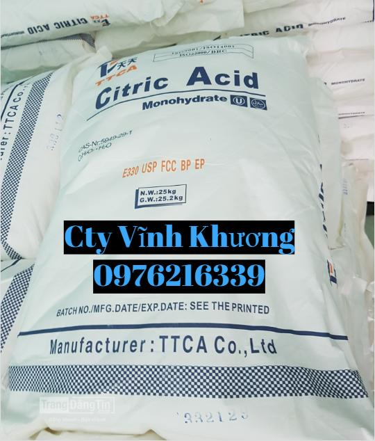 Acid Citric Monohydrate ( Acid Chanh)