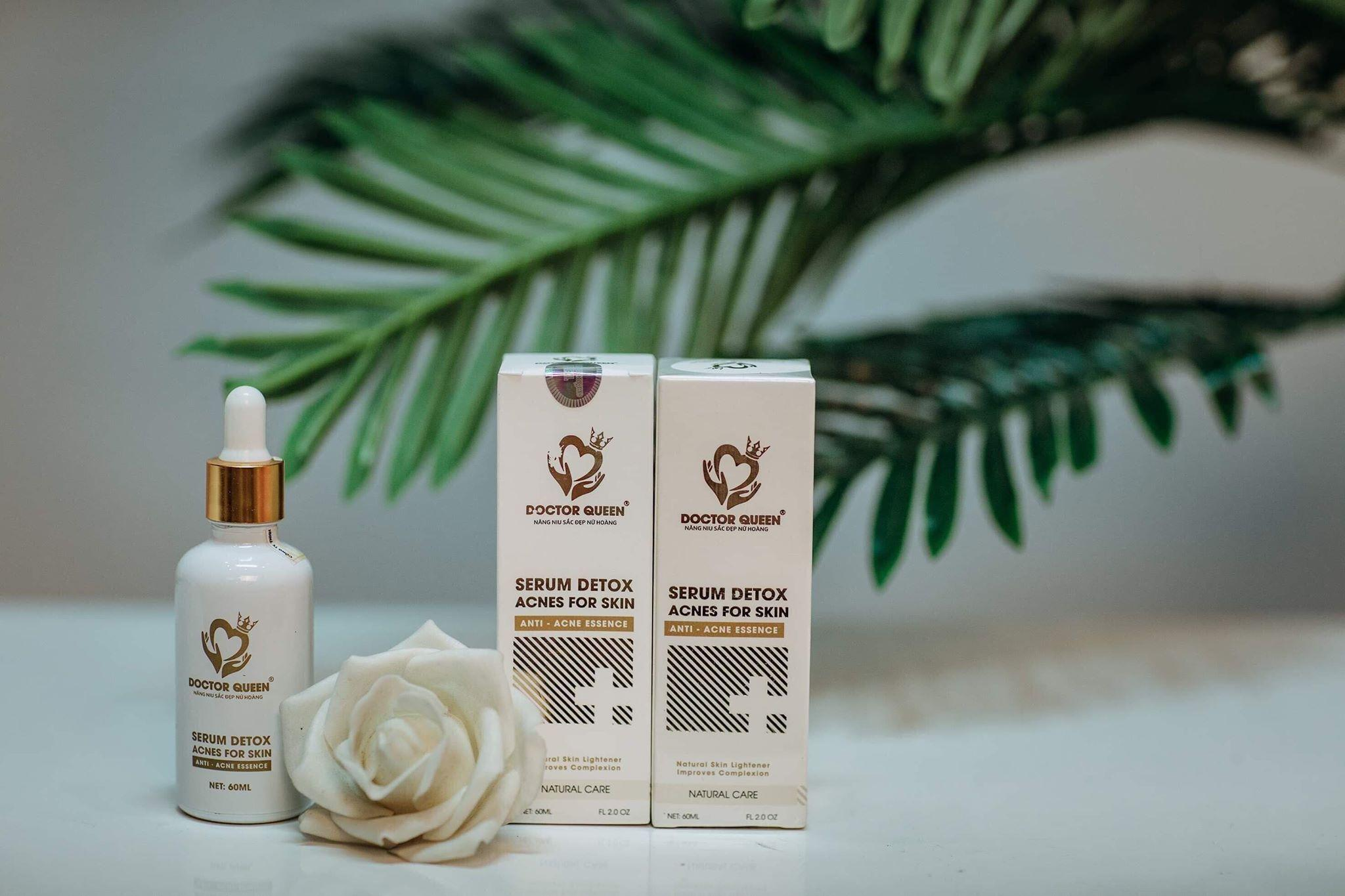 Serum Detox Acnes For Skin Ngăn Ngừa Mụn Doctor Queen