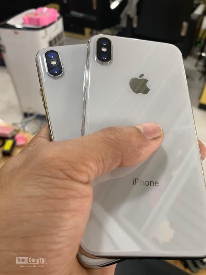 Bán iPhone X Siliver Fullbox