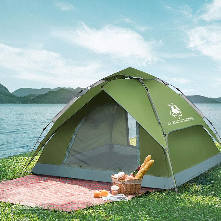 lều du lịch tự bung gazelle outdoors GL1666 big size