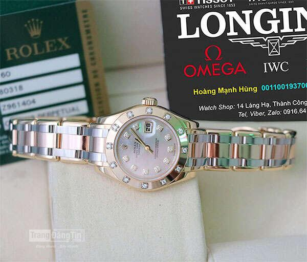 Lady Rolex Datejust Gold & Diamond new fullbox 917USD còn 225USD