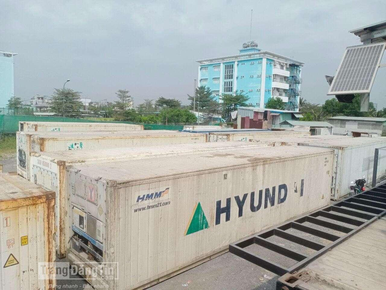 Container lạnh dài 12m