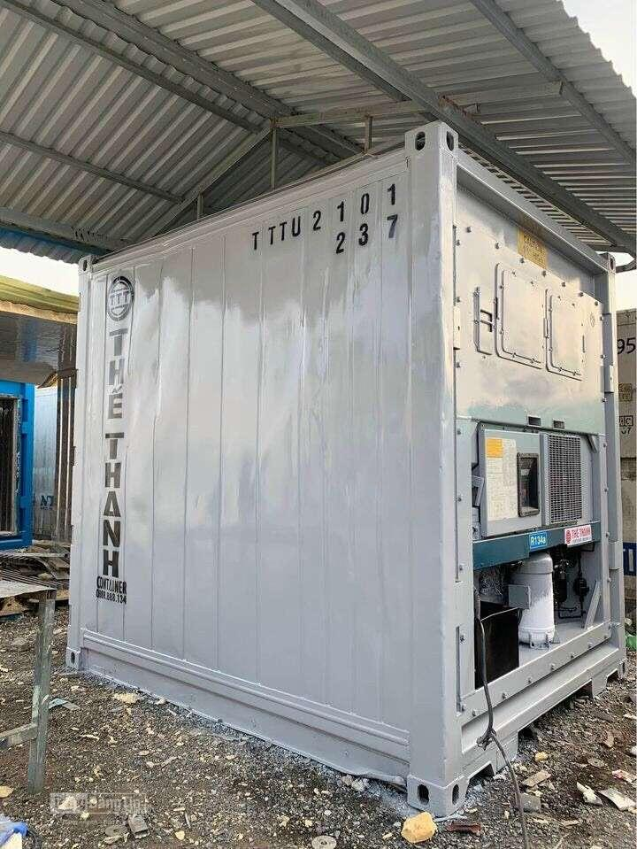 Container lạnh 10 feet tiện lợi