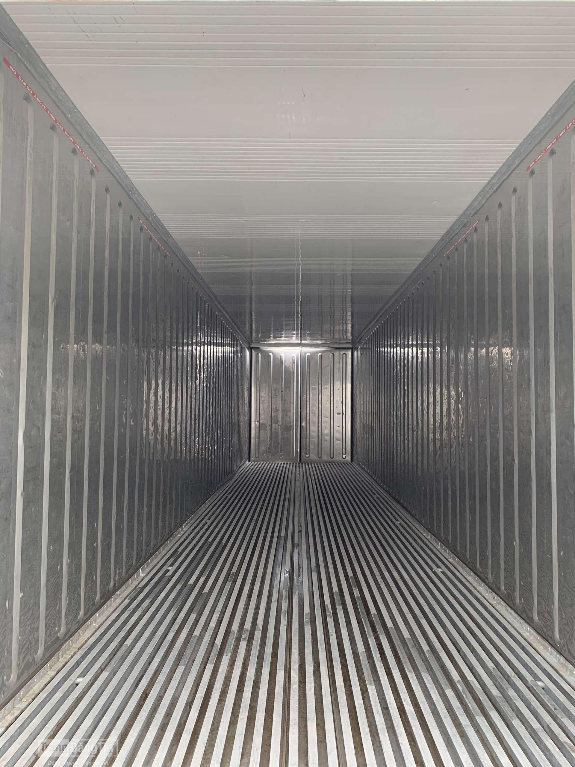 Container lạnh 40feet công suất 7.5HP
